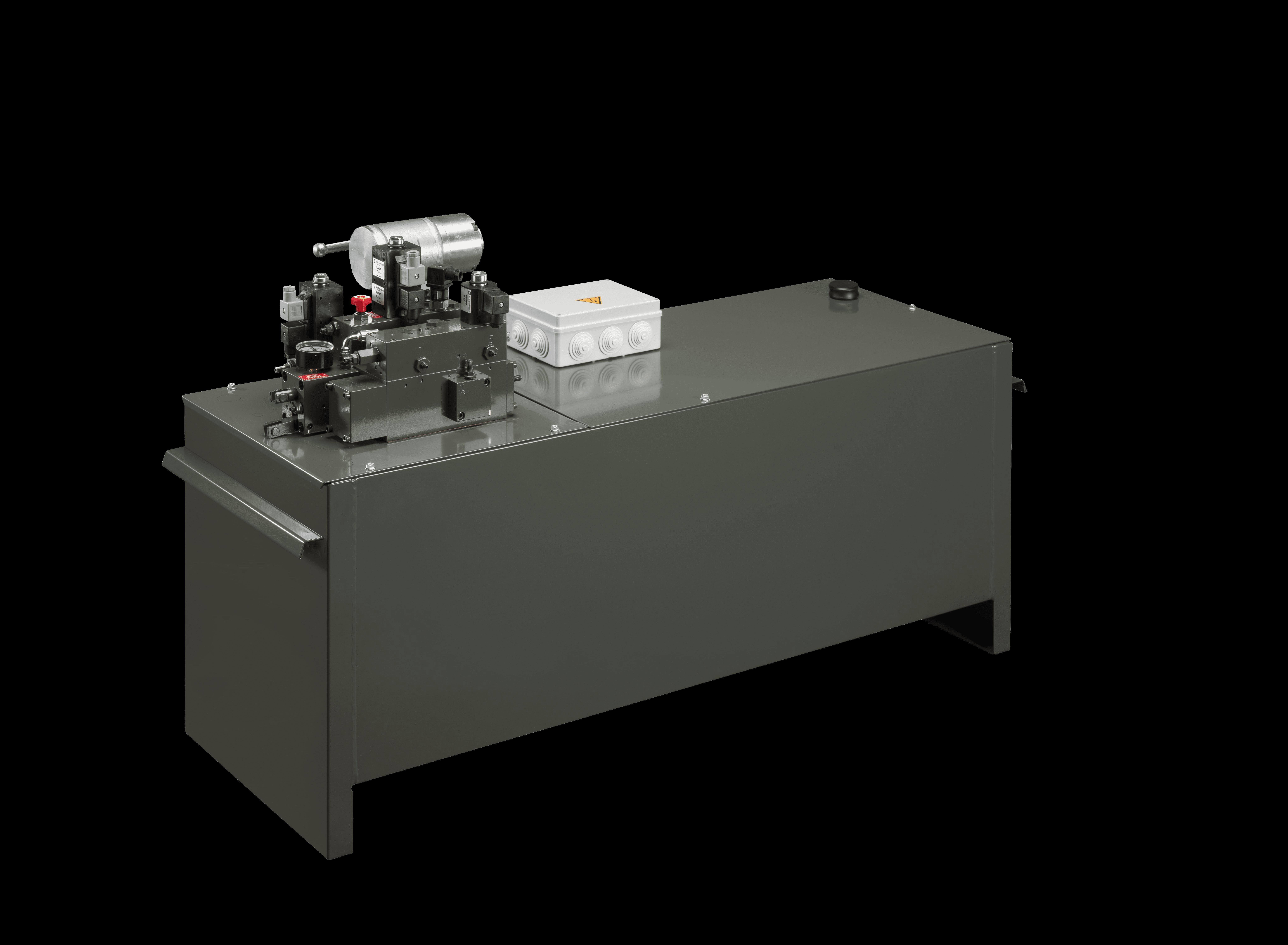 hydraulic pump unit pit application