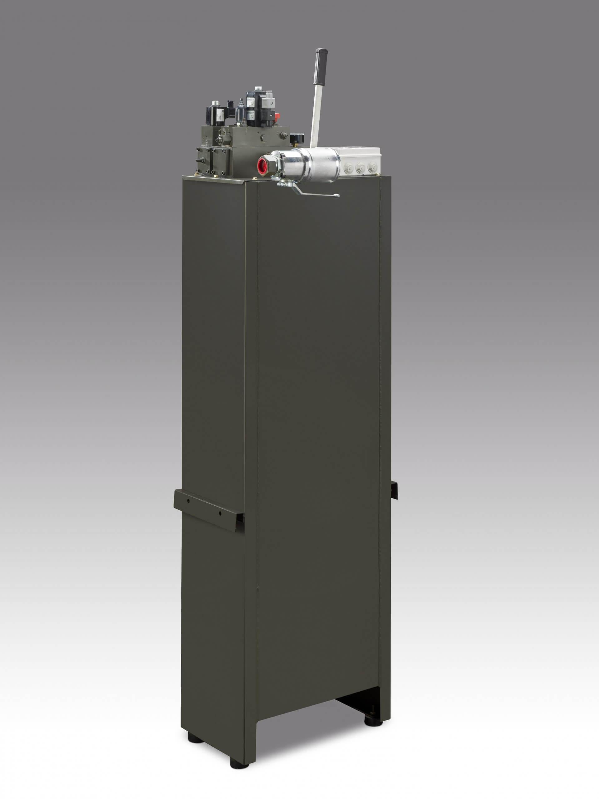 hydraulic pump unit for shaft